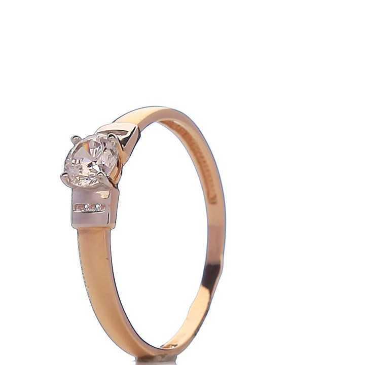 Auksinis žiedas 005751500175 - Auksiniai žiedai - Goldinga
