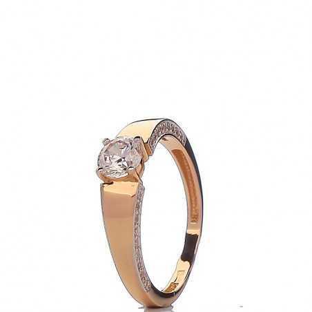 Auksinis žiedas 00578 - Auksiniai žiedai - Goldinga
