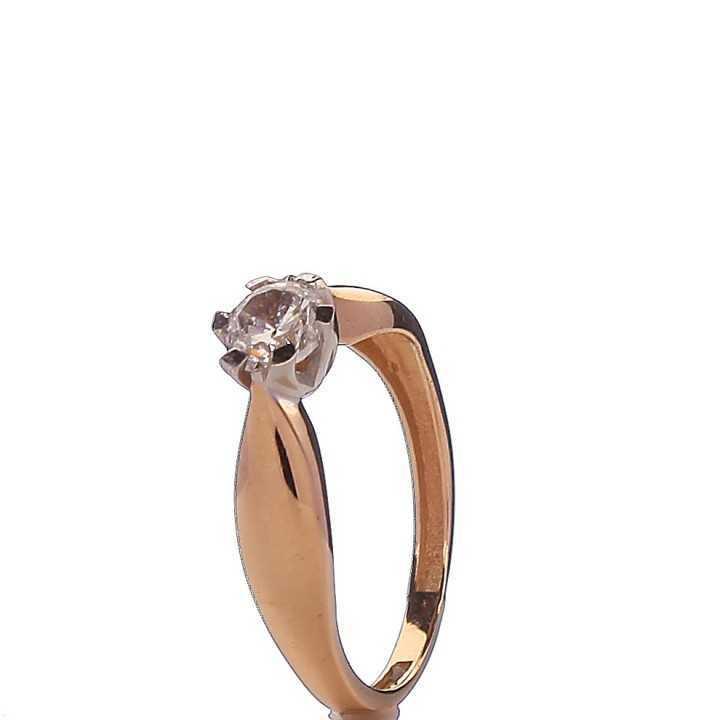 Auksinis žiedas 00587 - Auksiniai žiedai - Goldinga