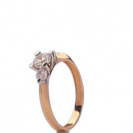 Auksinis žiedas 00576 - Auksiniai žiedai - Goldinga