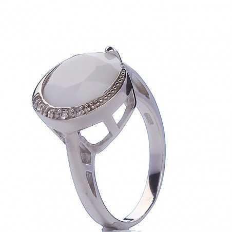 Sidabrinis žiedas 000293200500 - Sidabriniai žiedai - Goldinga