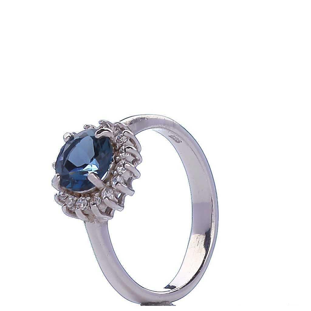 Sidabrinis žiedas 000315500340 - Sidabriniai žiedai - Goldinga