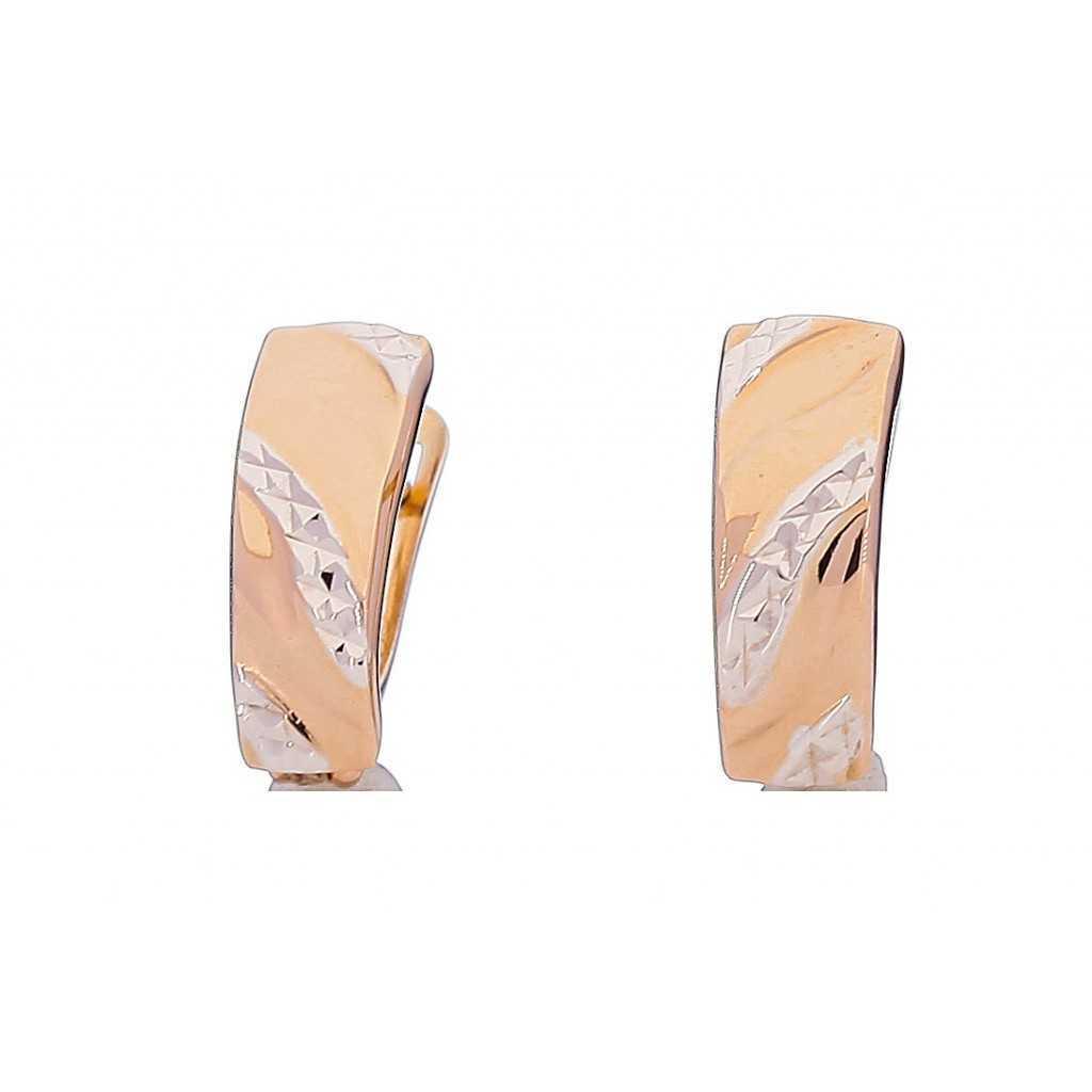 Auksiniai auskarai 00205 - Auksiniai auskarai - Goldinga