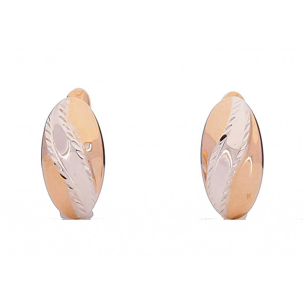 Auksiniai auskarai 00207 - Auksiniai auskarai - Goldinga