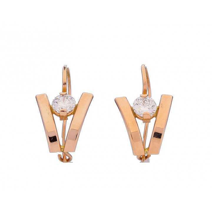 Auksiniai auskarai 003924800204 - Auksiniai auskarai - Goldinga