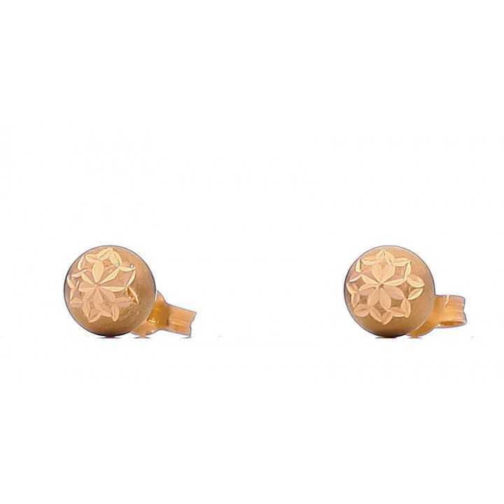 Auksiniai auskarai 00433 - Auksiniai auskarai - Goldinga