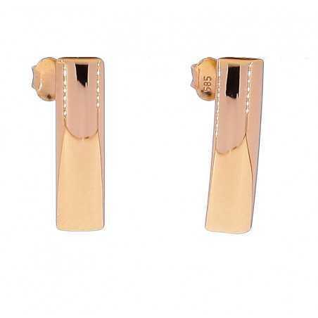Auksiniai auskarai 00175 - Auksiniai auskarai - Goldinga