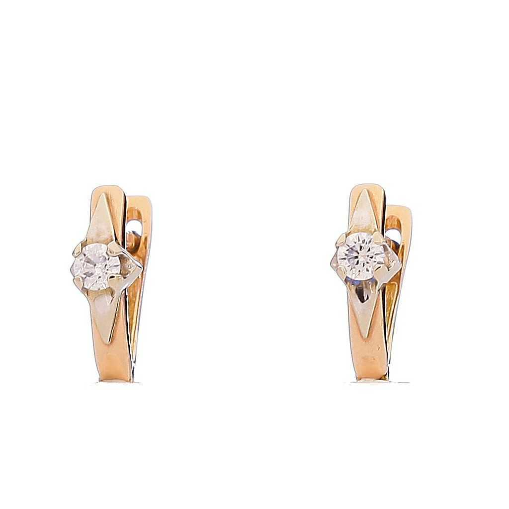Auksiniai auskarai 00460 - Auksiniai auskarai - Goldinga