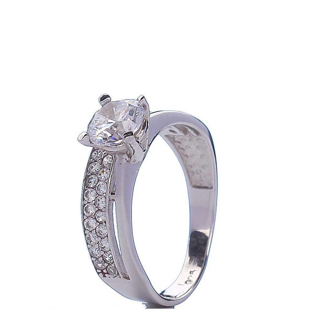 Sidabrinis žiedas 000386600350 - Sidabriniai žiedai - Goldinga