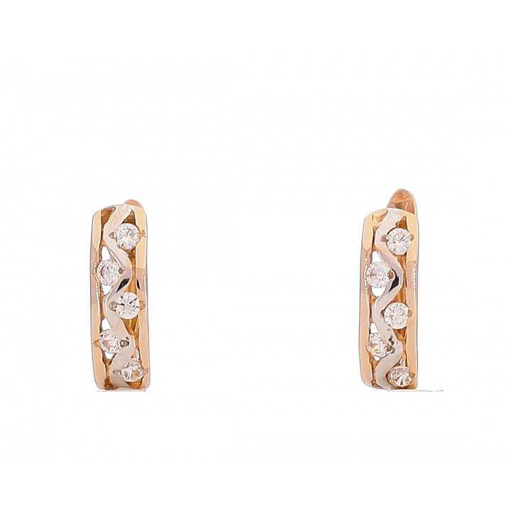 Auksiniai auskarai 00467 - Auksiniai auskarai - Goldinga