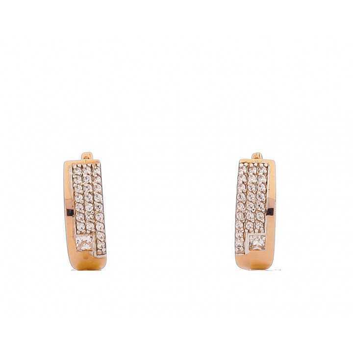 Auksiniai auskarai 00469 - Auksiniai auskarai - Goldinga