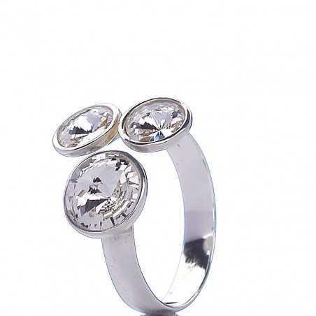 Sidabrinis žiedas 001219100340 - Sidabriniai žiedai - Goldinga