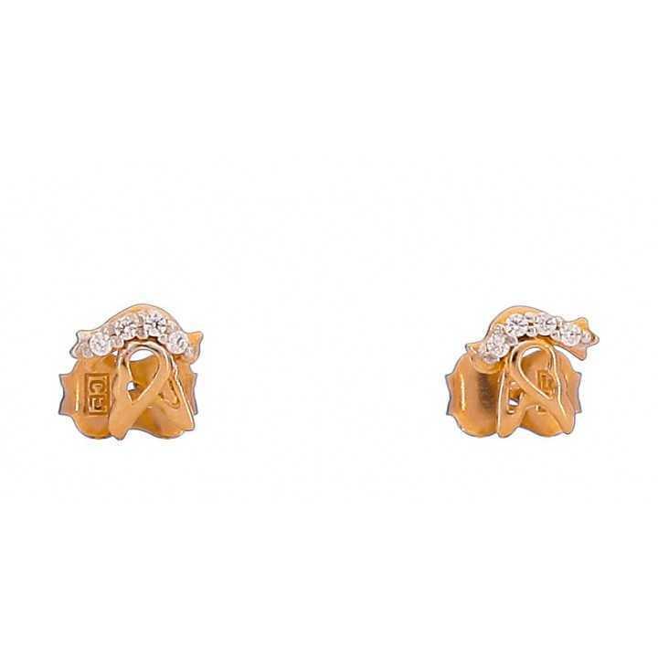 Auksiniai auskarai 00404 - Auksiniai auskarai - Goldinga