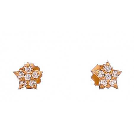 Auksiniai auskarai 00406 - Auksiniai auskarai - Goldinga