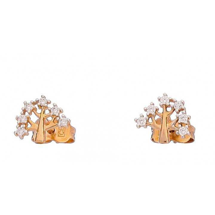 Auksiniai auskarai 00408 - Auksiniai auskarai - Goldinga