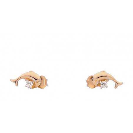 Auksiniai auskarai 00409 - Auksiniai auskarai - Goldinga