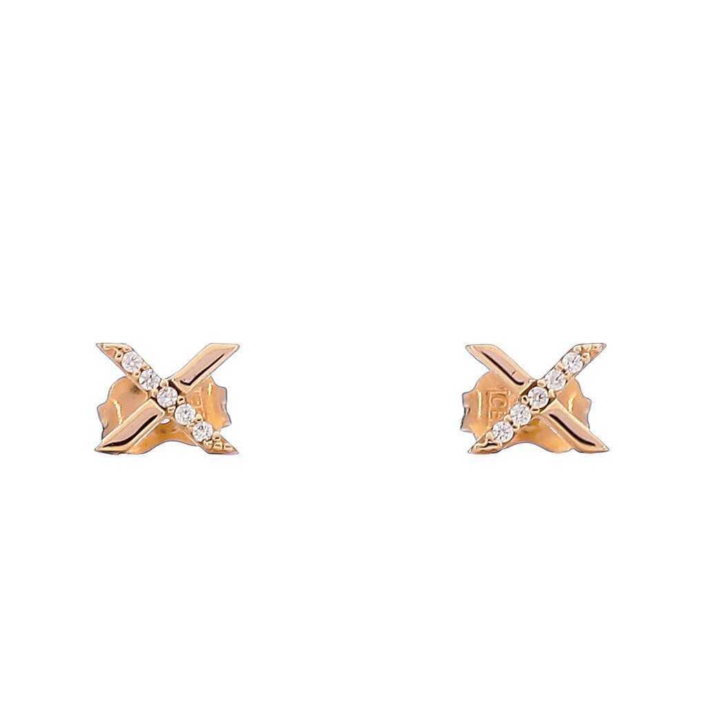 Auksiniai auskarai 00410 - Auksiniai auskarai - Goldinga