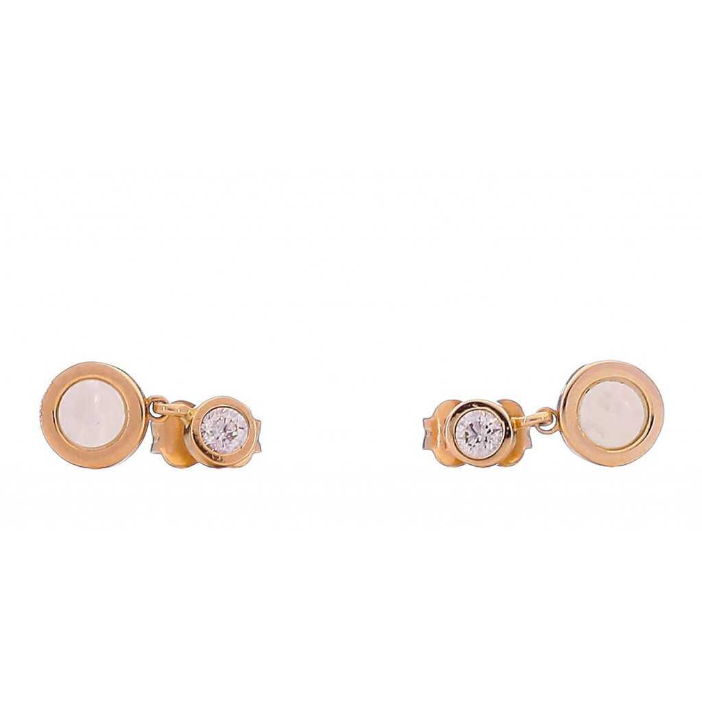 Auksiniai auskarai 00413 - Auksiniai auskarai - Goldinga