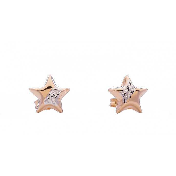 Auksiniai auskarai 00222 - Auksiniai auskarai - Goldinga