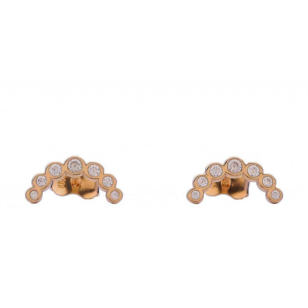 Auksiniai auskarai 006095300104 - Auksiniai auskarai - Goldinga