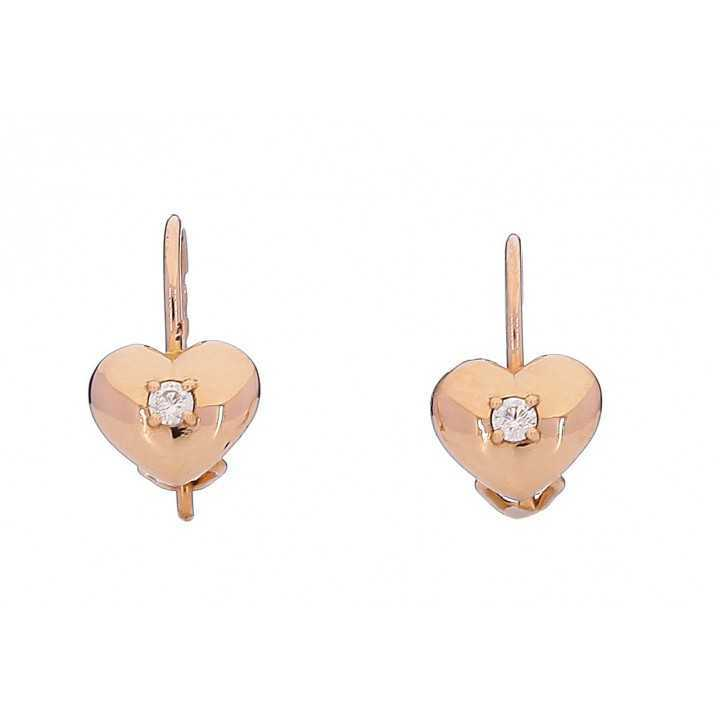 Auksiniai auskarai 005766500146 - Auksiniai auskarai - Goldinga
