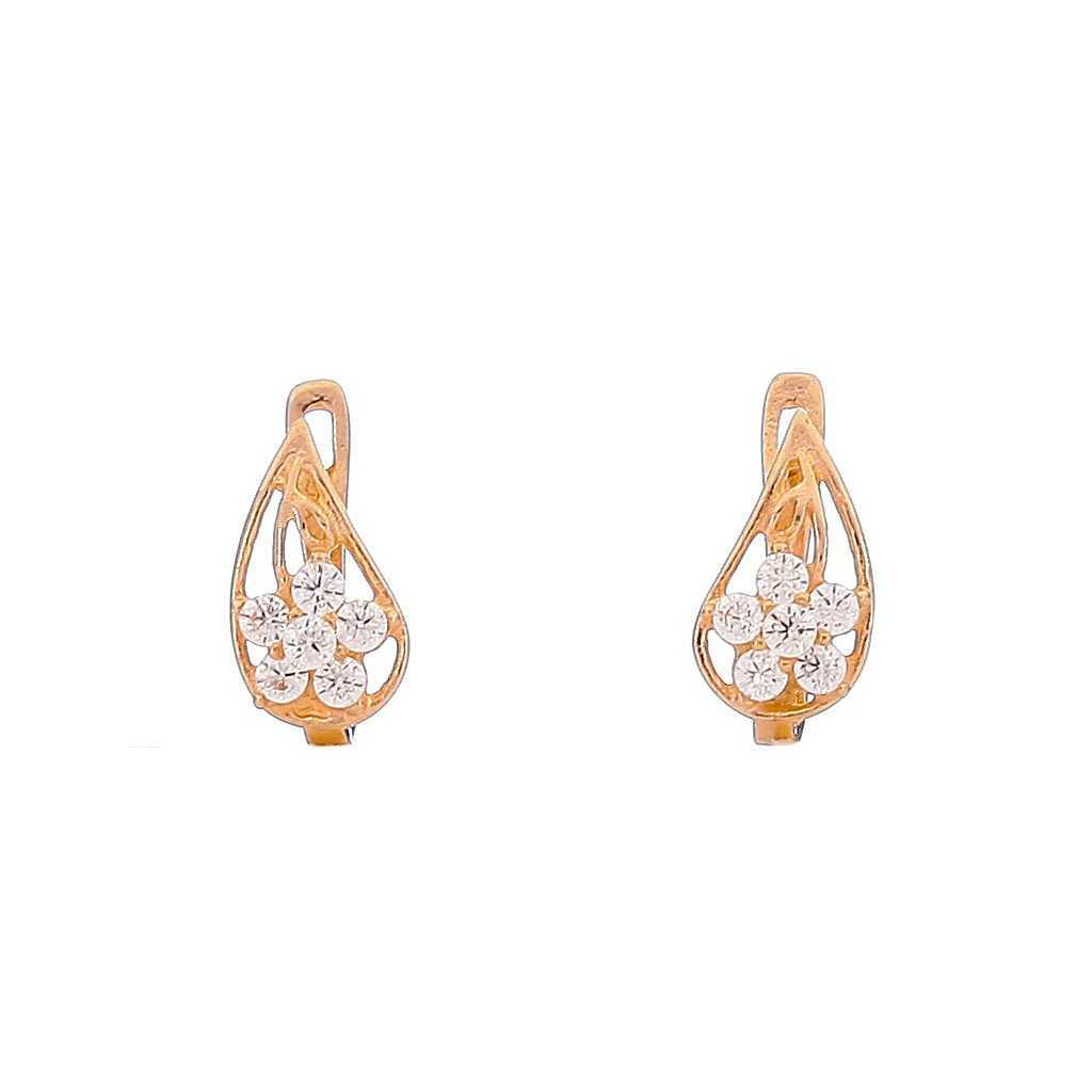 Auksiniai auskarai 00455 - Auksiniai auskarai - Goldinga