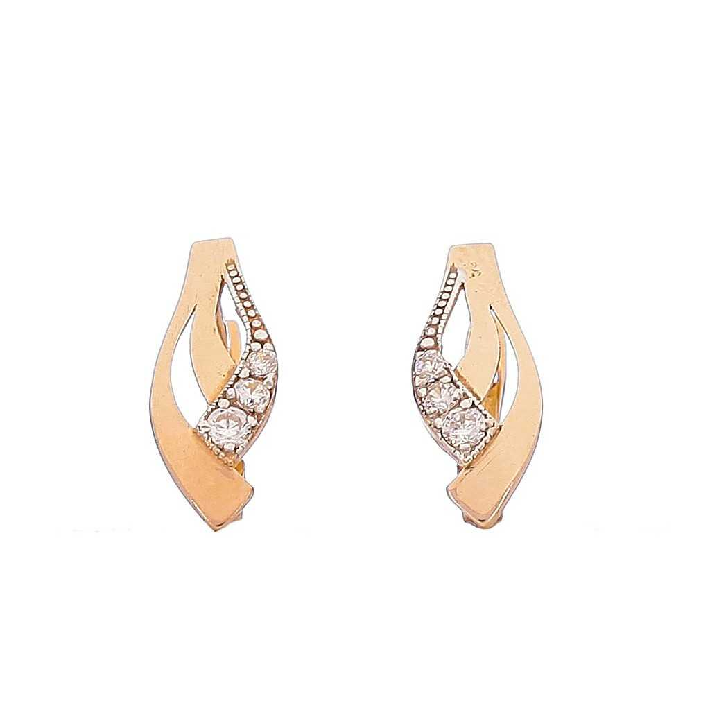Auksiniai auskarai 00458 - Auksiniai auskarai - Goldinga
