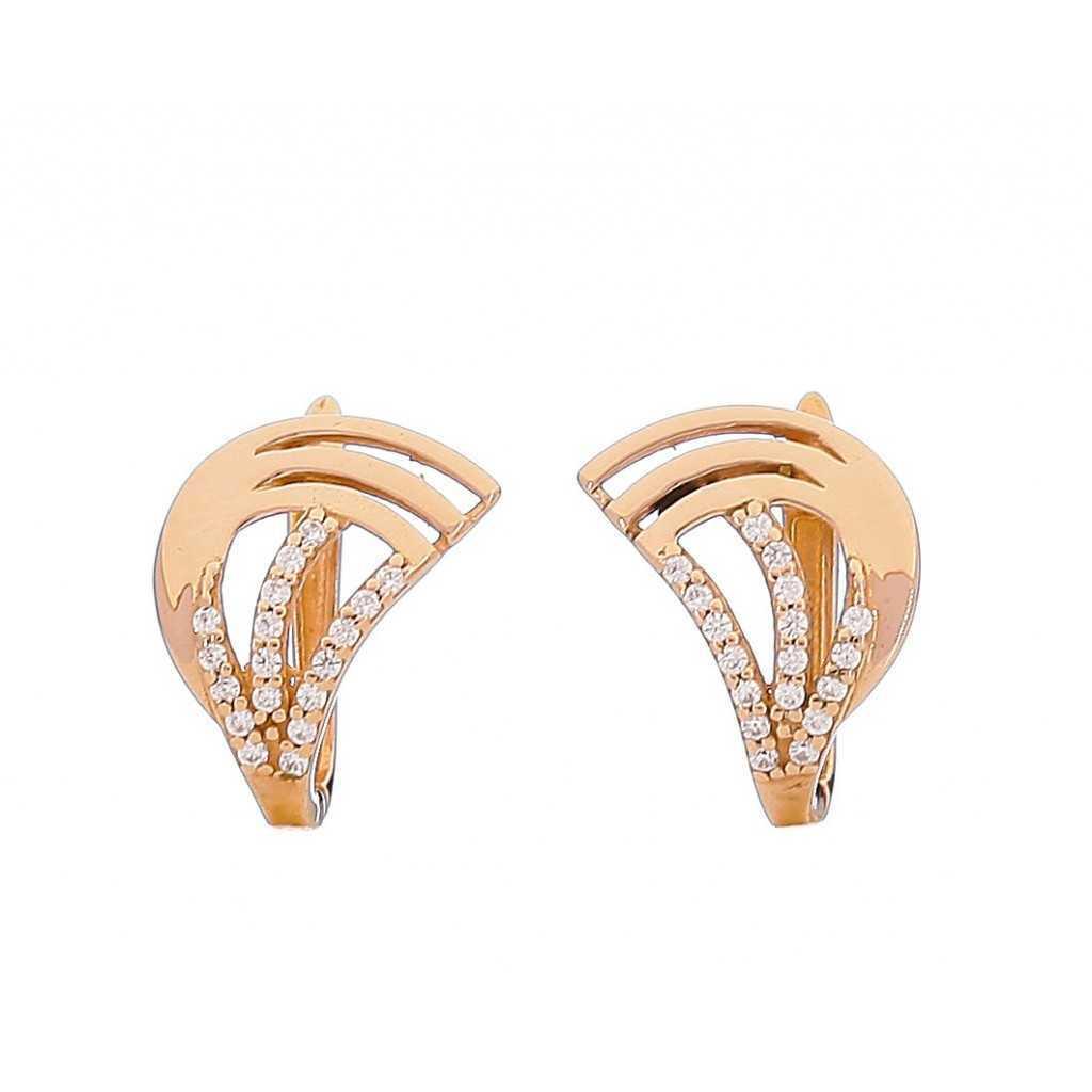 Auksiniai auskarai 00461 - Auksiniai auskarai - Goldinga