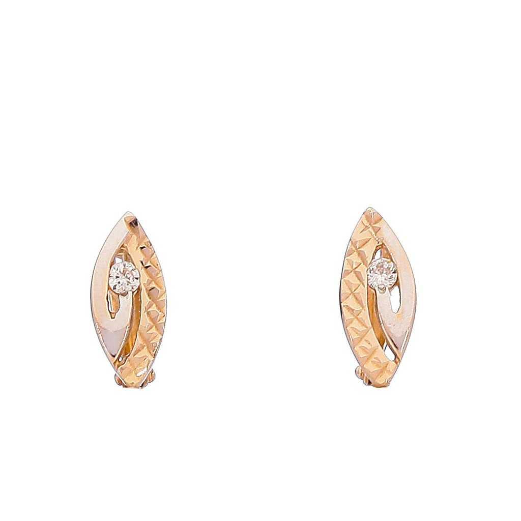 Auksiniai auskarai 00463 - Auksiniai auskarai - Goldinga