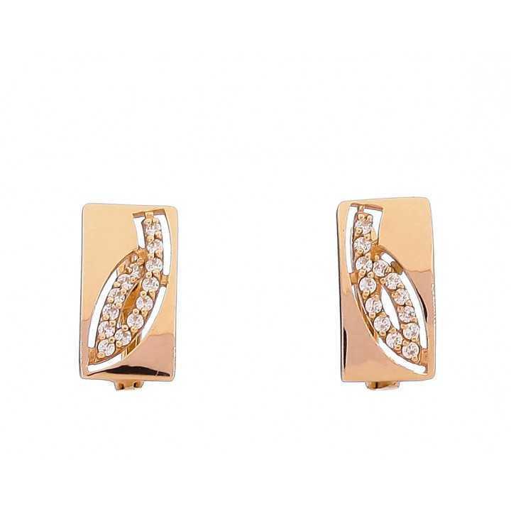 Auksiniai auskarai 00465 - Auksiniai auskarai - Goldinga