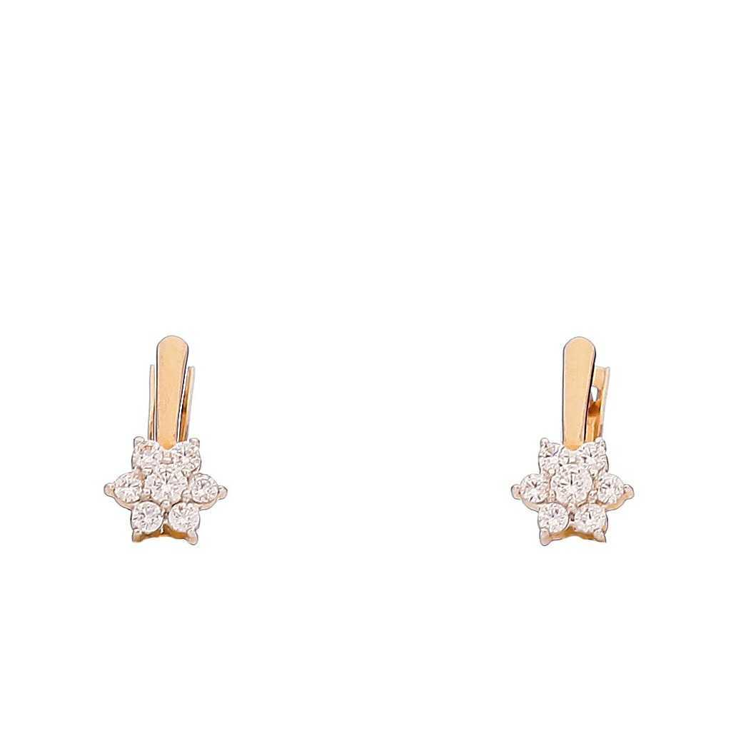 Auksiniai auskarai 00477 - Auksiniai auskarai - Goldinga
