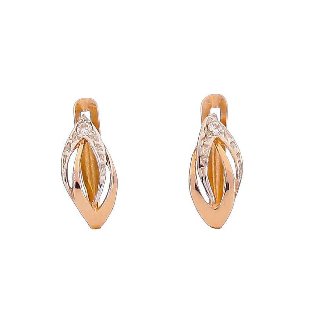 Auksiniai auskarai 00557 - Auksiniai auskarai - Goldinga
