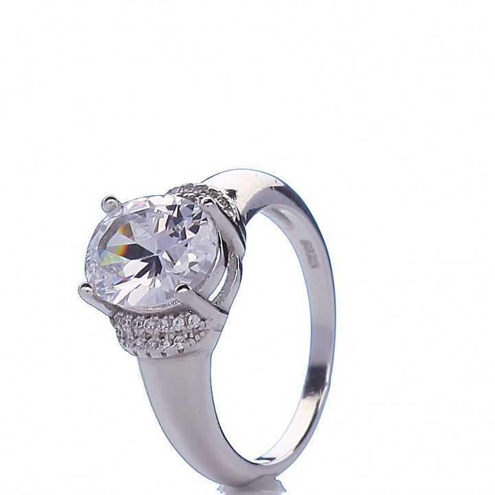 Sidabrinis žiedas 005676500460 - Sidabriniai žiedai - Goldinga
