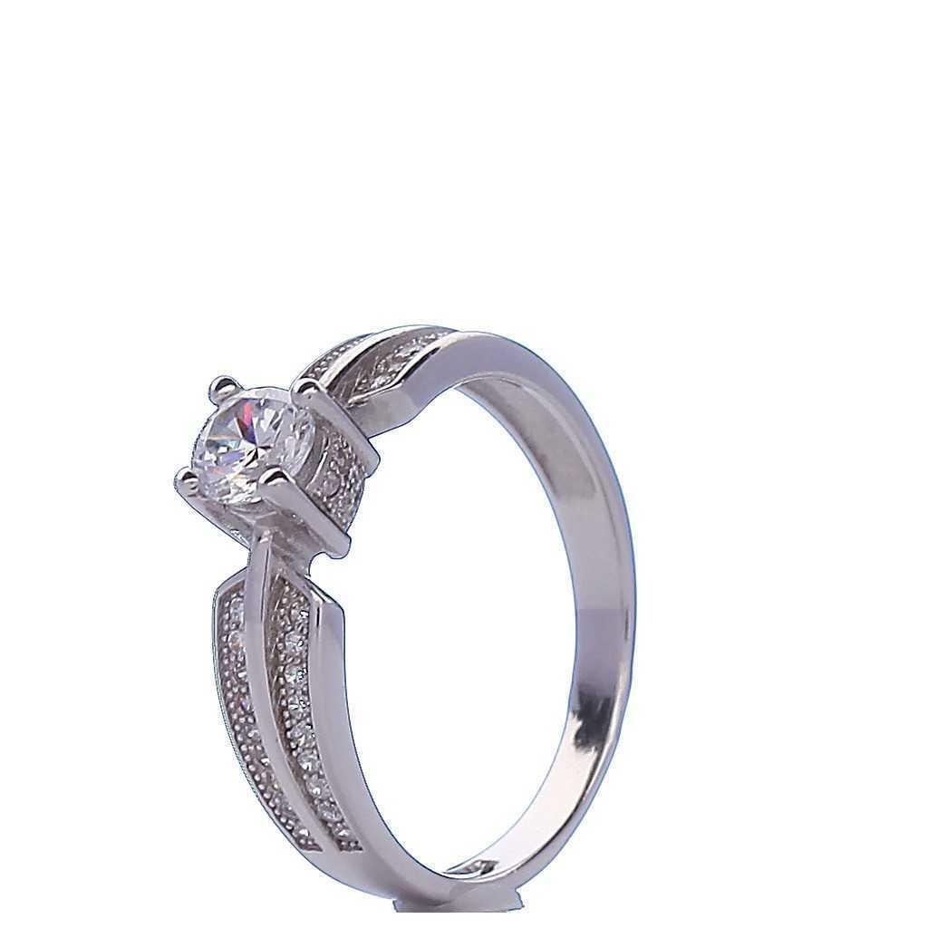 Sidabrinis žiedas 000364700310 - Sidabriniai žiedai - Goldinga