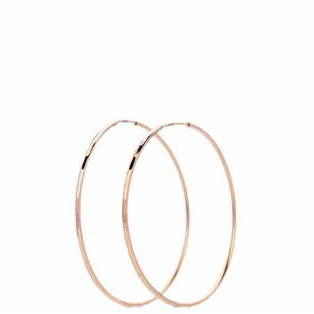 Auksiniai auskarai rinkutės 37mm - Auksiniai auskarai - Goldinga