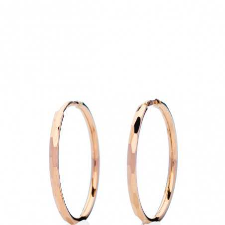 Auksiniai auskarai rinkutės 15mm - Auksiniai auskarai - Goldinga