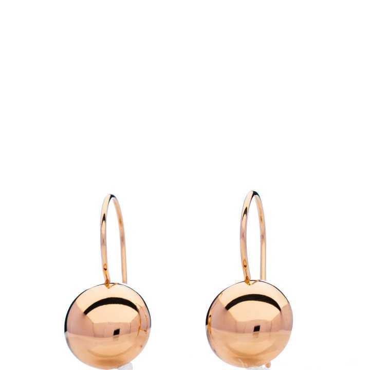 Auksiniai auskarai 20/10mm - Auksiniai auskarai - Goldinga