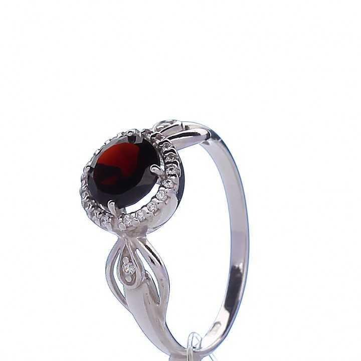 Sidabrinis žiedas 003756400280 - Sidabriniai žiedai - Goldinga