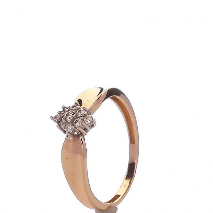 Auksinis žiedas 00551 - Auksiniai žiedai - Goldinga
