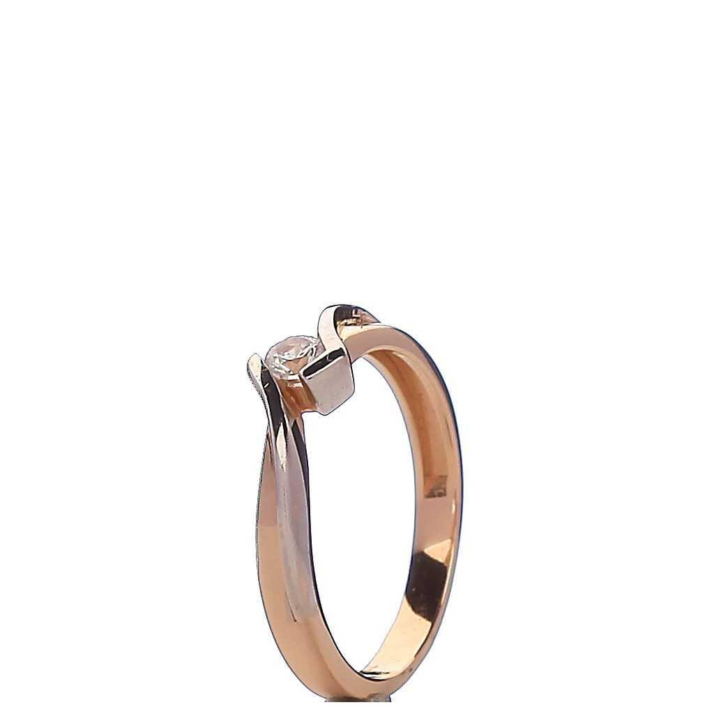 Auksinis žiedas 00398B - Auksiniai žiedai - Goldinga