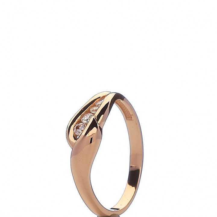 Auksinis žiedas 00550 - Auksiniai žiedai - Goldinga
