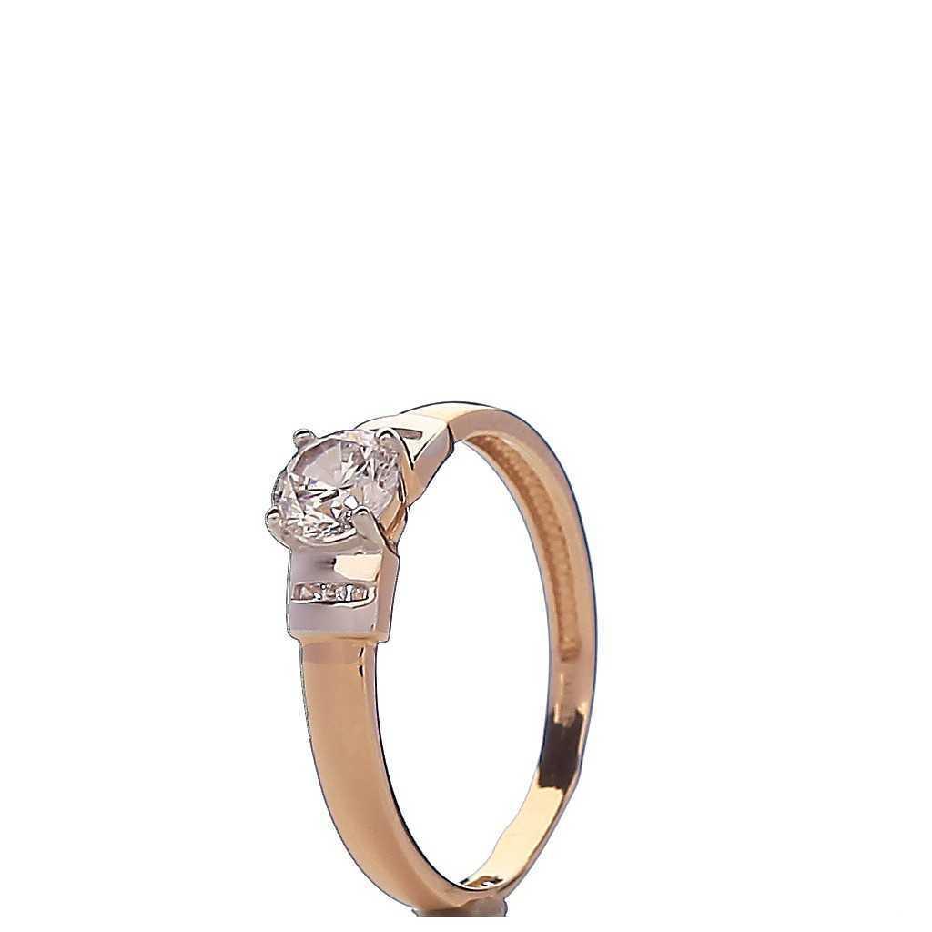 Auksinis žiedas 00499 - Auksiniai žiedai - Goldinga