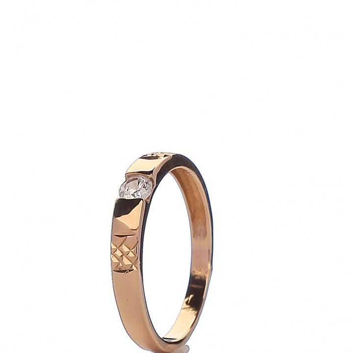 Auksinis žiedas 00402 - Auksiniai žiedai - Goldinga