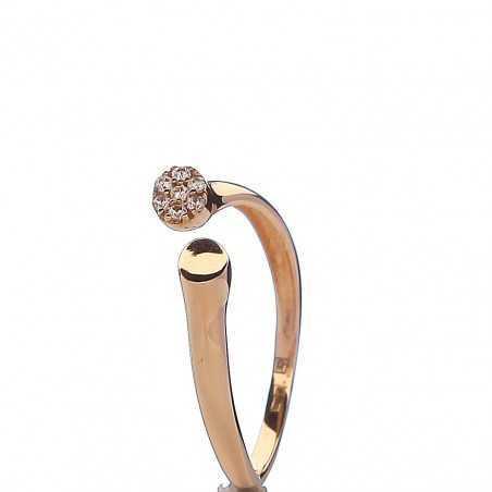 Auksinis žiedas 00603 - Auksiniai žiedai - Goldinga