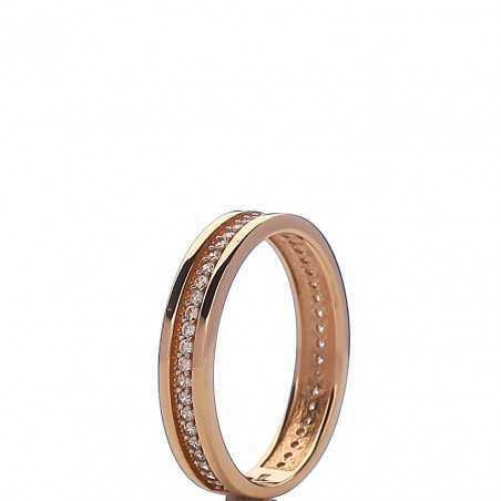 Auksinis žiedas 004486600260 - Auksiniai žiedai - Goldinga