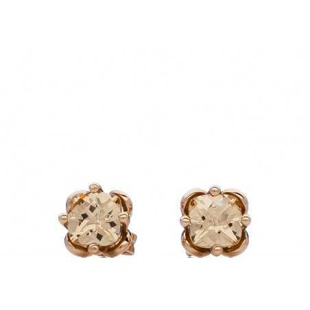 Auksiniai auskarai su cirkoniu - Auksiniai auskarai - Goldinga