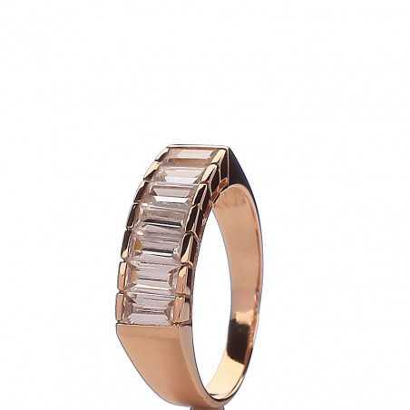 Auksinis žiedas 00500 - Auksiniai žiedai - Goldinga