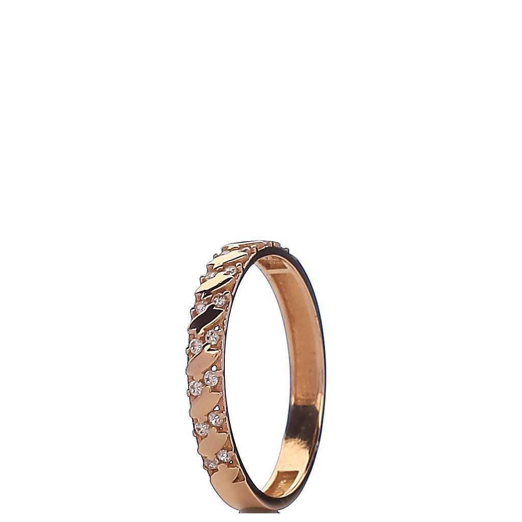 Auksinis žiedas 003996100115 - Auksiniai žiedai - Goldinga