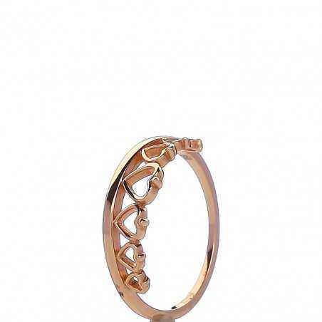 Auksinis žiedas 00583 - Auksiniai žiedai - Goldinga