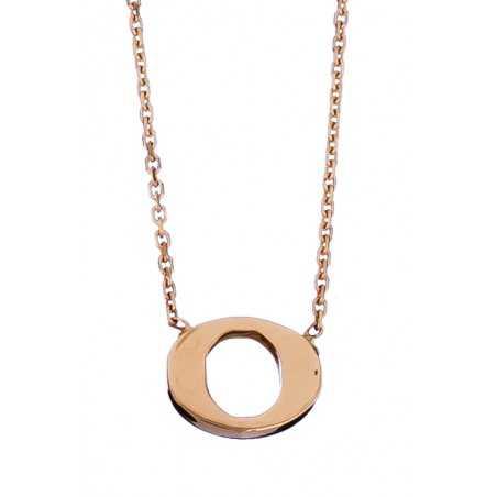 Auksinė grandinėlė su pakabuku raide O - Auksinės grandinėlės su pakabukais - Goldinga